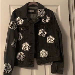 Bagatelle Jean jacket with roses